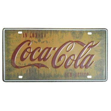 Metalna reklama Coca-Cola  Dimenzije 30 cm puta 15 cm  Ide