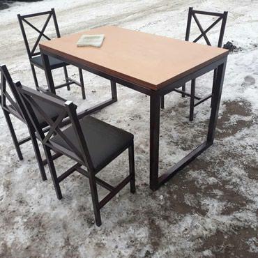 Столовые столы стулья под заказ!!!  в Бишкек