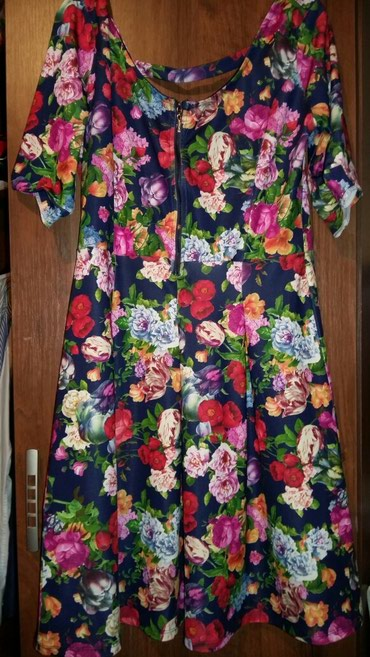 Почти новое турецкое платье носила 1 раз отлично тянется до 50 размера в Бишкек
