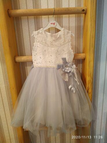 платье футляр голубое в Кыргызстан: Продам платья на маленькую принцессу 3-4 года . Состояние отличное