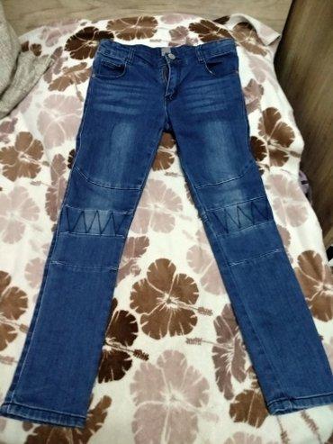 Детские джинсы на девочку, новые, турецкие, на возраст 5-7 лет