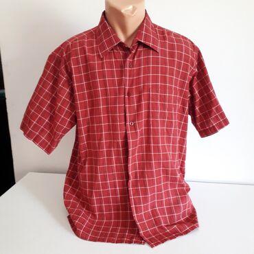 Muška košulja kratak rukav vel 43Odlična tanka košulja Millionaire