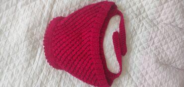 Зимняя шапочка ручной вязки из натуральной пряжи, не чешет и не