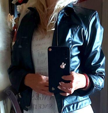 Original Gas jakna od ekokože. Kvalitetno urađena. Malo nošena