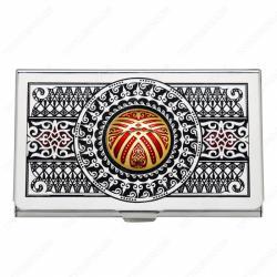 """визитница в Кыргызстан: """"Единство"""" Визитница EPOS бронзаВизитница из бронзы «Единство»"""