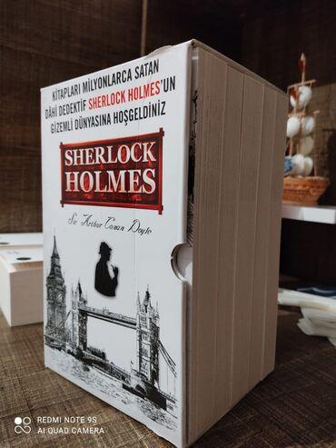 """""""Sherlock Holmes"""" 5 ki kitab seti.Salam.""""Sherlock Holmes"""" 5-li kitab"""