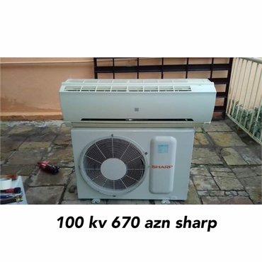 Kondisioner 100 kv 670 azn sharp