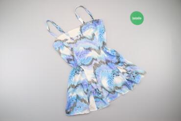 Рубашки и блузы - Цвет: Голубой - Киев: Жіноча блуза на бретельках з принтом     Довжина: 55 см Напівобхват гр