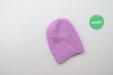 Дитяча в'язана шапка    Напівобхват голови: 20 см Висота: 22 см  Стан