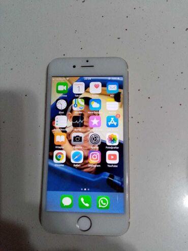 yumru busqalter - Azərbaycan: Iphone 6 16gb barmaq izi her sey isleyir ekranda balaca yumru qaralti