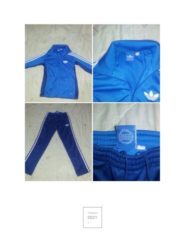 Личные вещи - Кыргызстан: Костюм спортивный мужской Adidas, производство Турция. Состояние