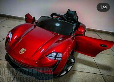 Детский электромобиль Porsche Emission EГарантия 2 года +месяц