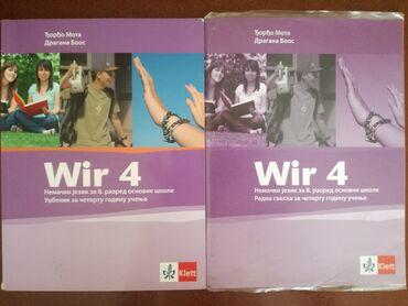 Bez - Srbija: Wir 4 - nemački za 8. razred, Klett sa CD-omKnjige su očuvanje