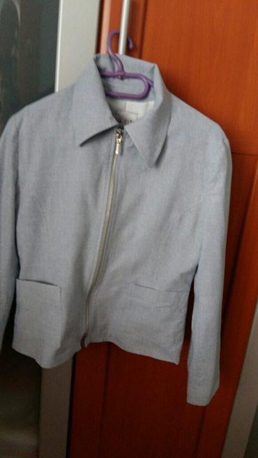 Sako-jaknica svetlo plave boje,vel.2 to je francuski broj,nesto - Petrovac na Mlavi