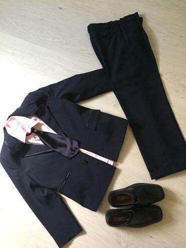 Svecane pantalone - Srbija: SVECANO ODELO ZA FRAJERA I CIPELICE. Jednom obuceno. Duzina sakoa 57