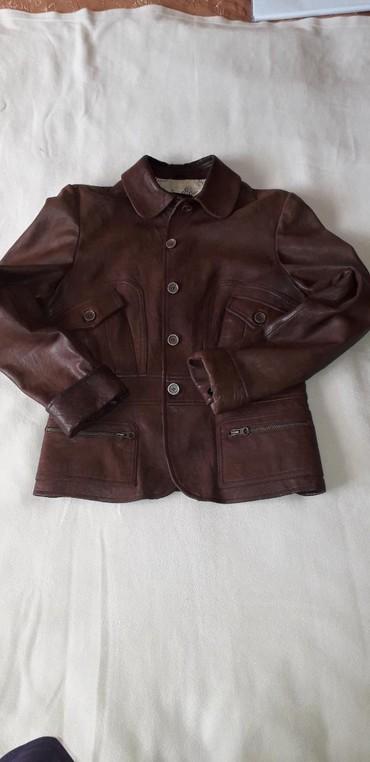 Женская одежда - Мыкан: Кожаная куртка сост отл.42-44р