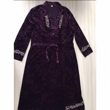 Платье двойка52-54размер Велюр в Бишкек