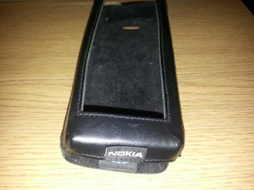 Nokia comunicator 0i γνήσια προστατευτική δερμάτινη θήκη