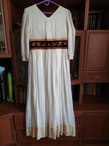 "Платье с орнаментом. 46размер. Материал турецкий шёлк. Бренд ""Janara """