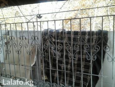 продаю оконные решётки 3штуки,делались для двухкомнатной квартиры 105  в Бишкек