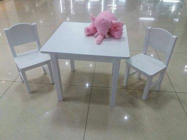 Г. бишкек цена 7500с набор - стол и 2стула в Бишкек