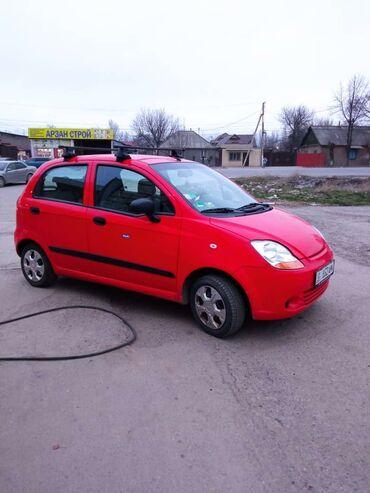 Практика вождения на механике - Кыргызстан: Chevrolet Matiz 0.8 л. 2009
