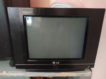 телевизор lg чёрный в Кыргызстан: Продаю 2 телевизора в рабочем состоянии + ресивер 1 прошу 2000