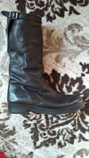Обувь сапоги кожа натуральная размер 40 покупала в Бишкек парк бутик
