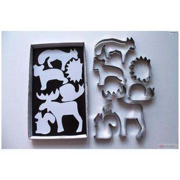 Новый набор формочек для печенья (6 зверей) от икеа!!! в Бишкек