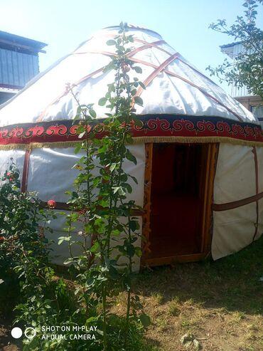 Палатки - Бишкек: Сдаю юрта на различные мероприятия.5кереге,75 уук. Диаметр 5 м 5.5