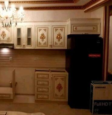 Электроника - Масазыр: Б/у Двухкамерный Черный холодильник Hitachi