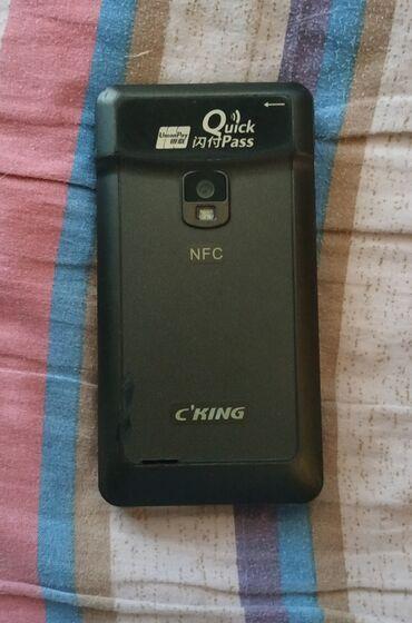 Продаю трехсимочный на андроиде сенсорный телефон c NFC (2 сим GSM+1