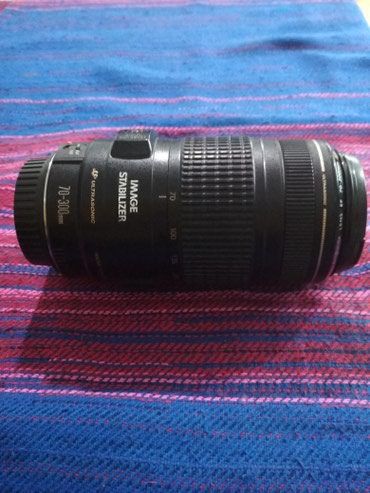 Продаю объектив canon 70-300 f4-5,6 со стабилизатором. в Бишкек