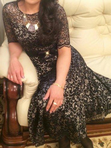 Платье 44-46 шикарное, одевала 1 раз в Бишкек