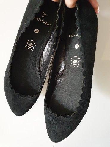 Kožne cipele Naf Naf novo. Broj 38. Potpuno nove cele kožne - Crvenka