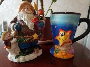 продам новый сувенир деда-мороза копилка,☃⛄и веселую кружку🎄 готовим  в Бишкек