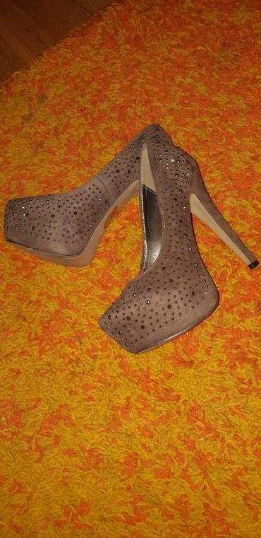 Ženska obuća | Novi Banovci: Savrsene cipele na platformu i visoku stiklu 37broj