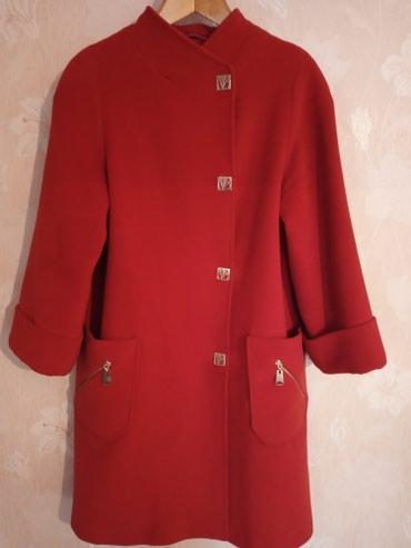Женские пальто в Кыргызстан: Турецкое пальто, терракотового цвета,очень хорошего качества,46-48р