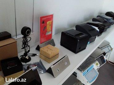 Bakı şəhərində Barkod aparatlar avadanliq satisi. Cek printer tereziler barkod