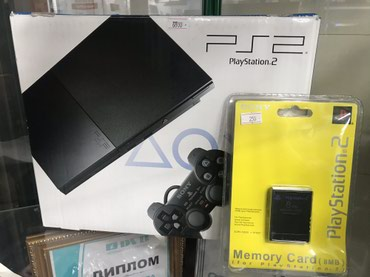 Playstation 2 в идеальном состоянии, почти в Бишкек