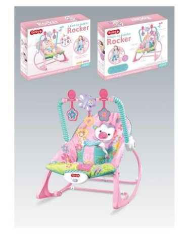 NOVO! NJIHALICA Za Bebe do 18 kg RozeNjihalica stolicica za bebe