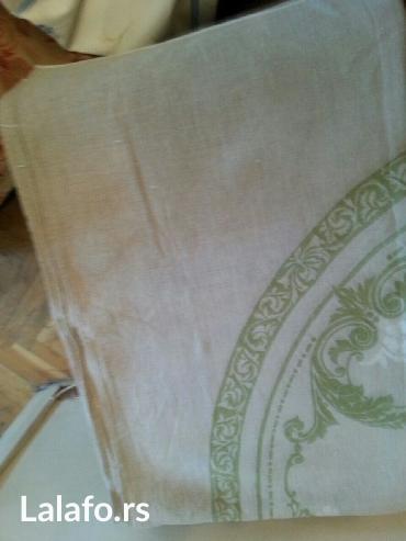 Prodaje se laneni stoljnjak -pravougaoni -nov - Crvenka