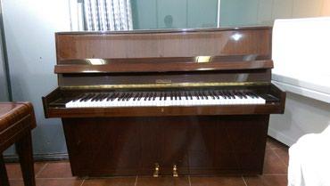 Bakı şəhərində Almaniya istehsalı rönisch piano - kompakt ölçülü, restavrasiya