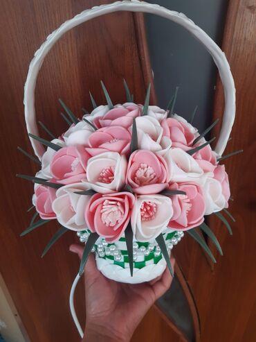 наволочки из атласа в Кыргызстан: Ростовые розы светильники.атласные букеты с надписями. Лучшие подарки