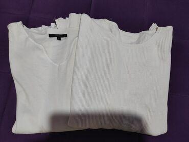 Univerzalnecine pamuk - Srbija: Dve bluze, jedna pamucna, druga komcana. Velicnina L