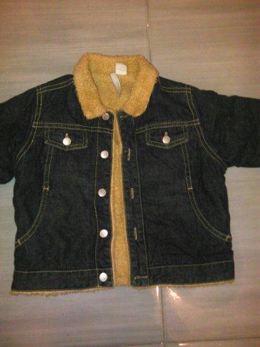 Decije patike - Zitorađa: Decija jaknica kupljena u francuskoj jako topla kao nova je