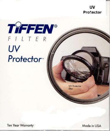 Объективы и фильтры - Кыргызстан: Фильтр. Tiffen 77mm UV Protector Filter