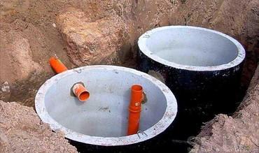 бетонные кольца для септика в Кыргызстан: СЕПТИК ИЗ БЕТОННЫХ КОЛЕЦ.Септик из бетонных колец под ключ на 6.2 м3