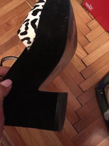 Zara sandale 38 velicina ali manji kalup37 po mojoj proceni,skoro nove - Beograd - slika 2