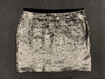 sako crne boje u Srbija: Suknja Zara basic u S veličini, koja je spolja cela sa perlicama u sre